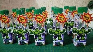 lembrancinha do hulk tubete
