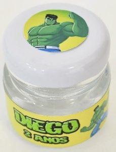lembrancinha do hulk simples