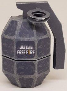 lembrancinha free fire granada