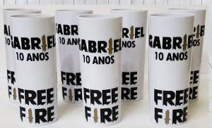 lembrancinha free fire copo