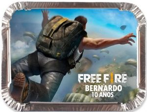 lembrancinha free fire simples