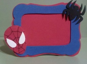 lembrancinha homem aranha eva
