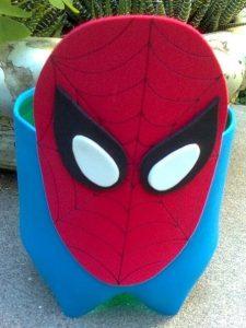 lembrancinha homem aranha feltro