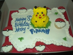 Bolo Pikachu Chantilly