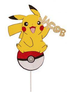 Bolo Pikachu Topo de bolo