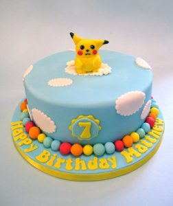 Bolo Pikachu Pasta americana