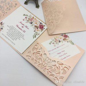 Convite casamento rústico Simples: