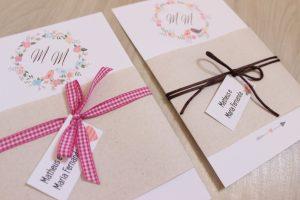 Convite casamento rústico Para imprimir