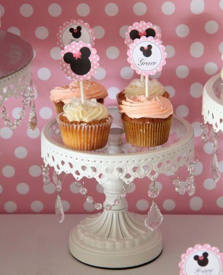 cupcake minnie Com Topper