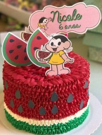 bolo de aniversário Magali