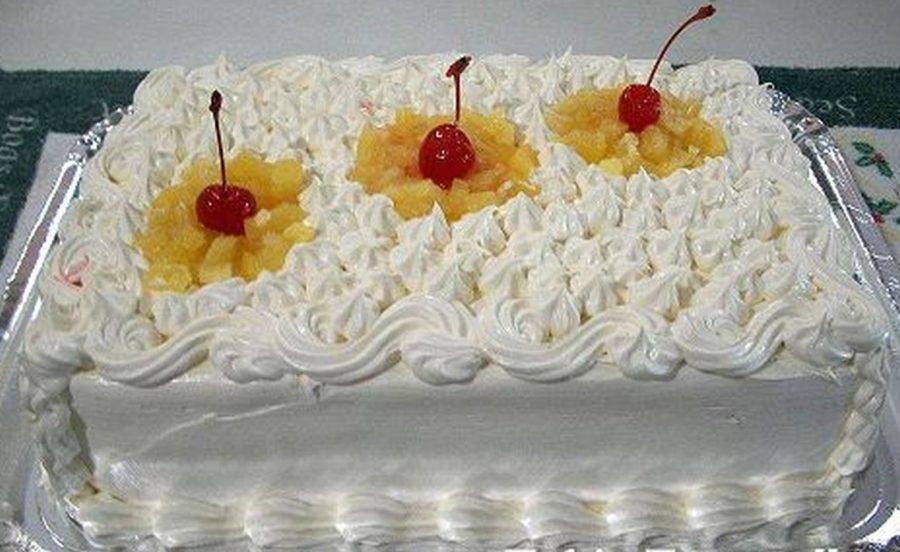 bolo de aniversário Confeitado