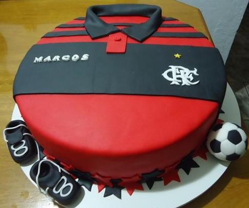 bolo de aniversário Flamengo
