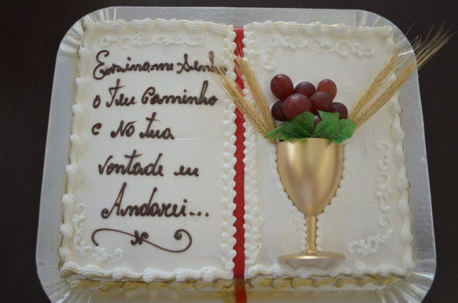 bolo de aniversário Mensagem