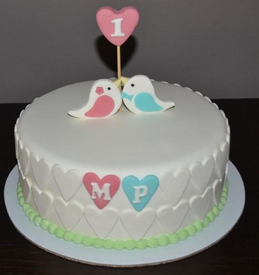 bolo de aniversário Casamento
