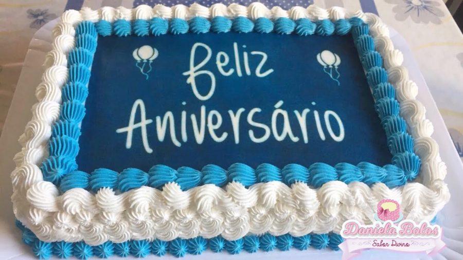 bolo de aniversário Homem