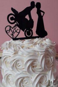 bolo de casamento simples 1 Andar