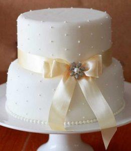 bolo de casamento simples Simples