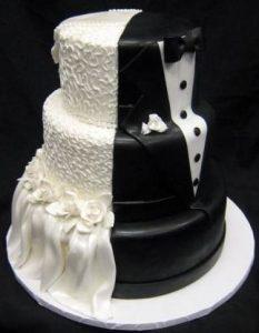 bolo de casamento pasta americana