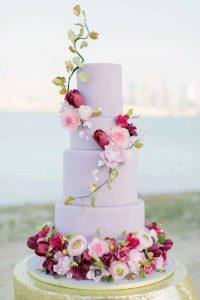 bolo de casamento fake
