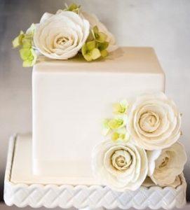 bolo de casamento 1 andar