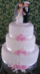 bolo de casamento 3 andares