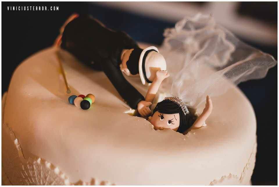 bolo de casamento rustico Engraçado