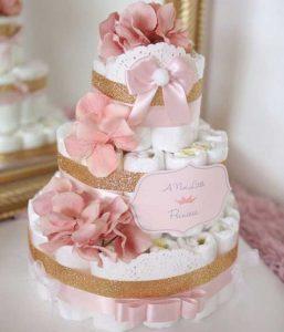 bolo de fraldas jardim encantado