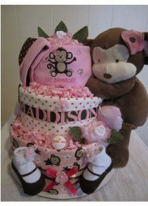 bolo de fralda feminino