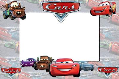 convite carros Imprimir