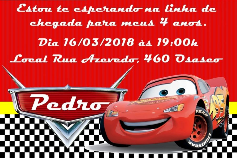 convite carros On line