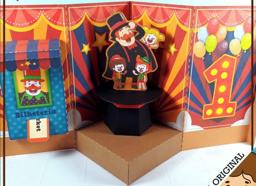 convite circo Criativo