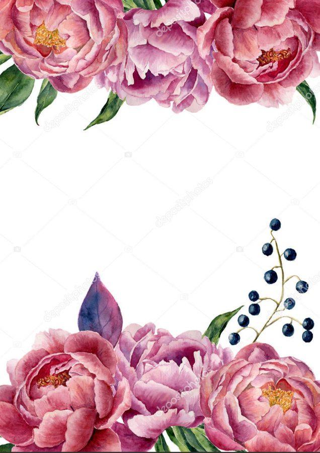 Convite floral Imprimirconvite floral Imprimir