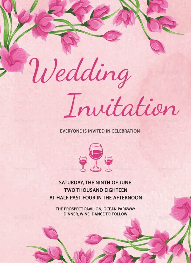 Convite floral Rosaconvite floral Rosa