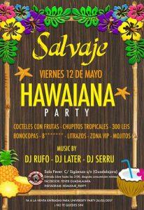 convite havaiano Masculino