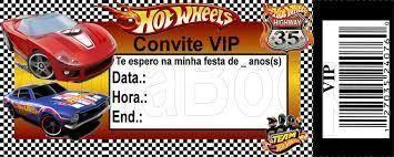 Convite Hot Weels Editarconvite hot weels Editar