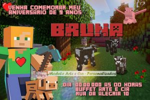 convite minecraft Virtual