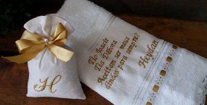 convite para padrinhos de batizado simples