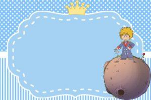 convite pequeno principe Editar