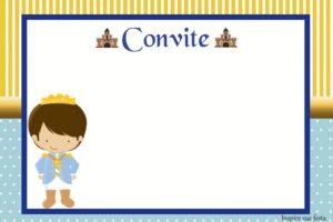 convite pequeno principe Imprimir