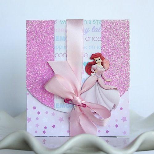 Convite Sereia Ariel