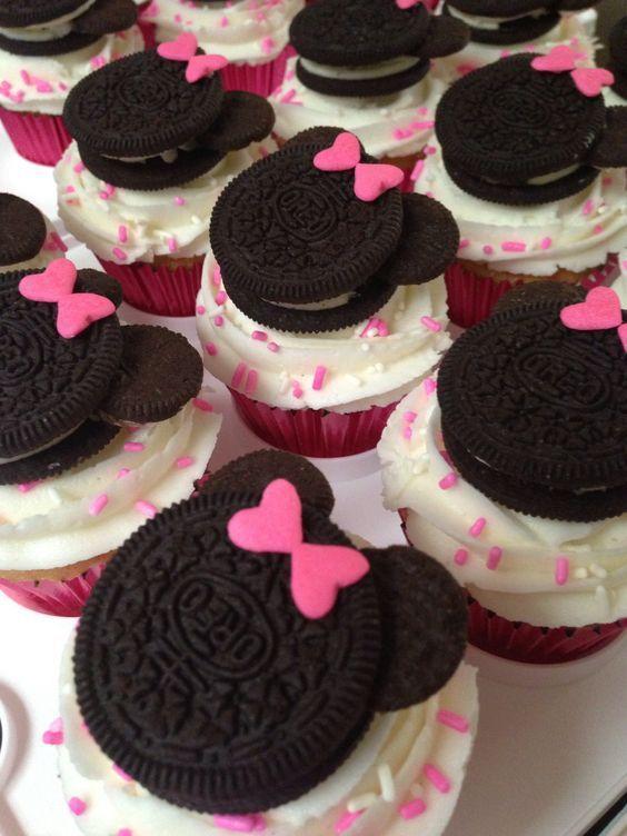 cupcake minnie Chantilly