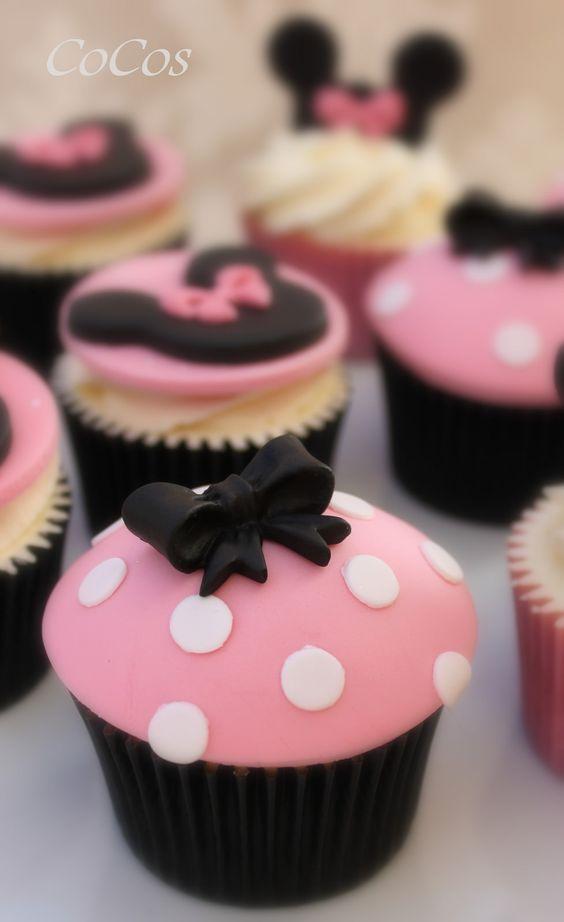 cupcake minnie Pasta Americana