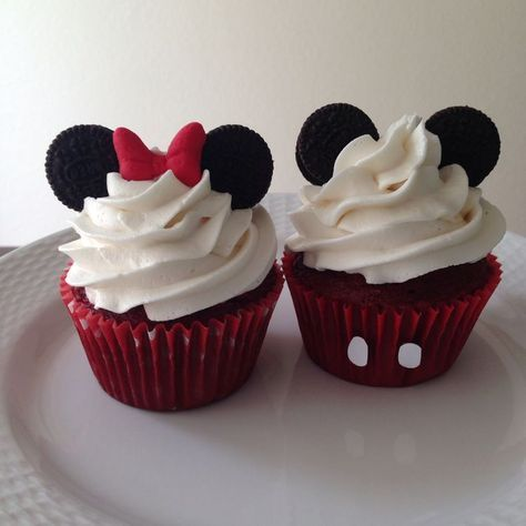 cupcake minnie Simples