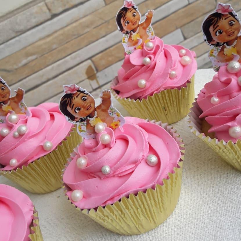 cupcake moana Baby