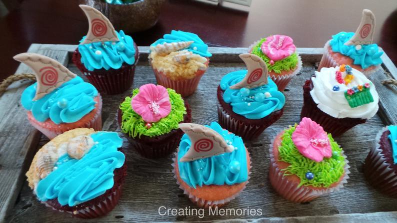 cupcake moana Chantilly