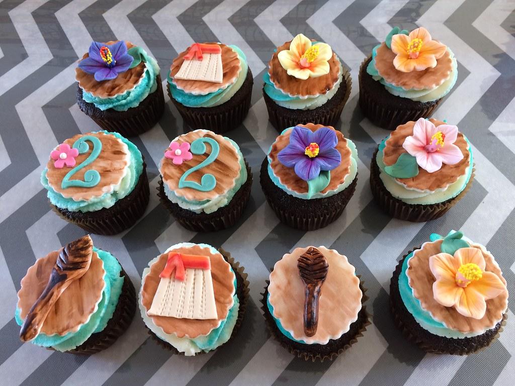 cupcake moana Pasta Americana