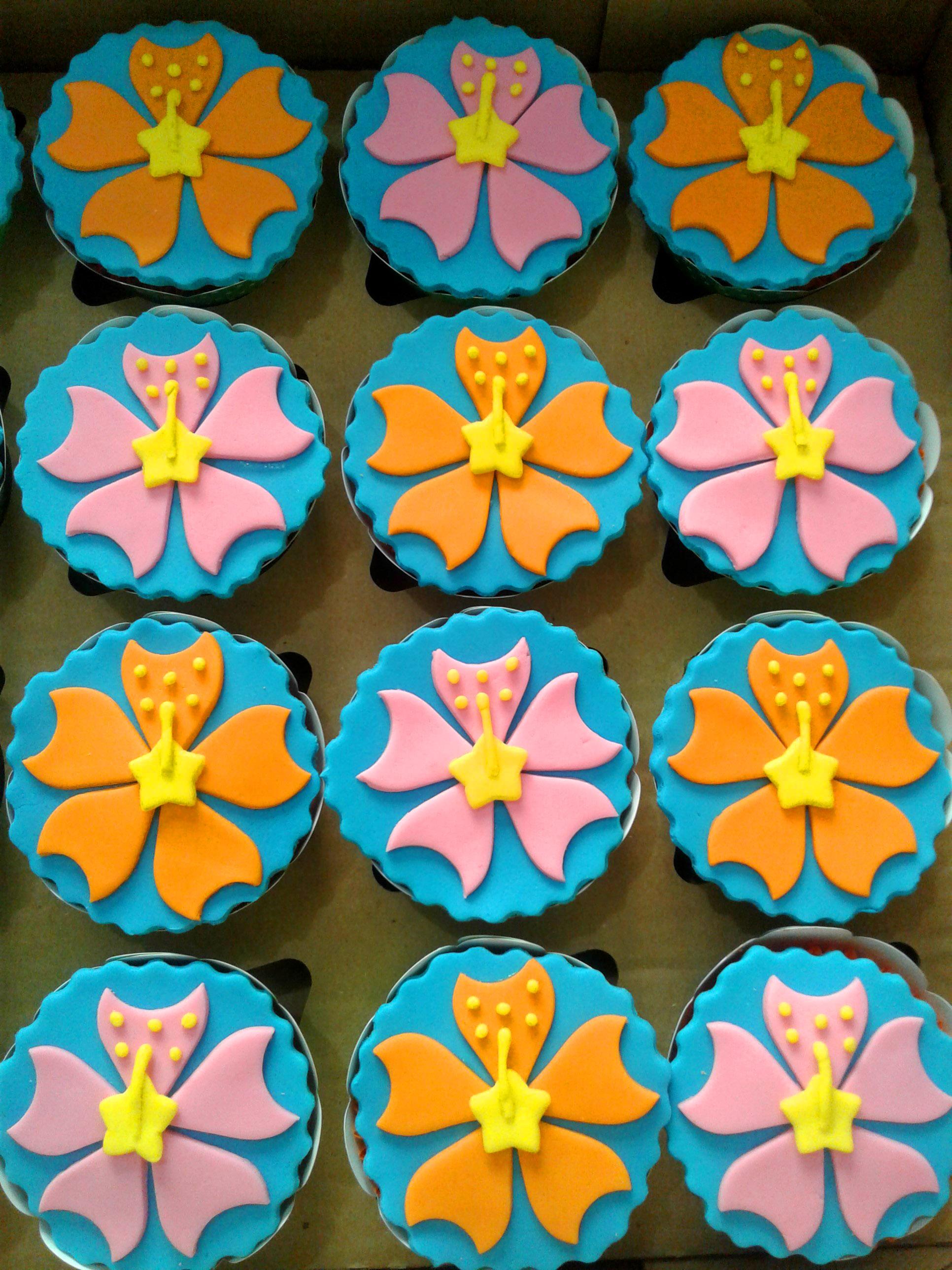 cupcake moana Simples