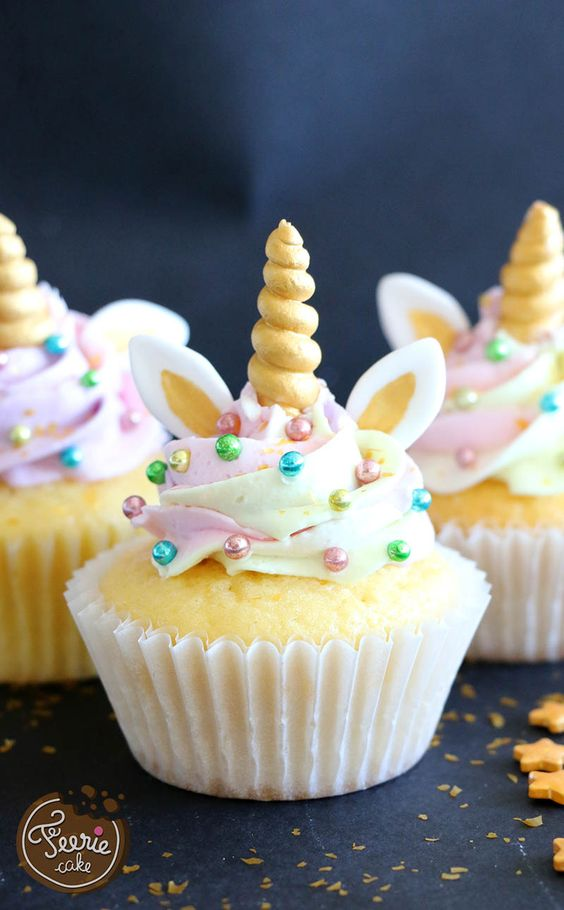 Cupcake Unicórnio Simples