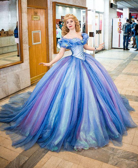fantasia cinderela Luxo