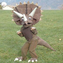 fantasia de dinossauro Infantil
